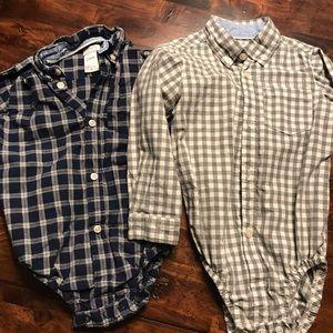24 month button shirts